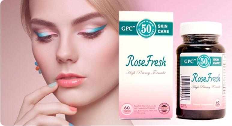 Sản phẩm trị mụn rose fresh, được phân phối bởi Dược Phẩm Gia Phan